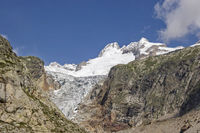 glacier in Val Ferret