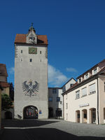 Water gate in Isny im Allgäu