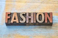 fashion word wood type