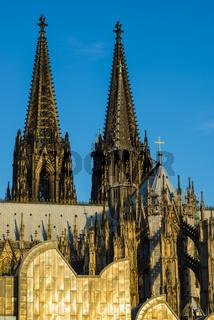 Kölner Dom, Museum Ludwig, Köln, Nordrhein-Westfalen, Deutschland, Europa