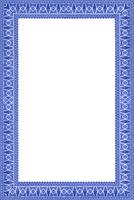 Pattern border frame