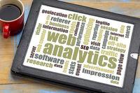 web analytics word cloud