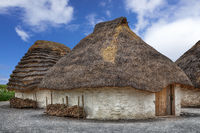 Straw Neolithic Houses