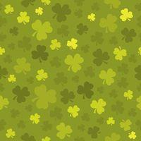 Three leaf clover seamless background 3