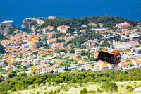 Panoramic view of Dubrovnik from