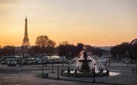 Concorde Square in Paris, France