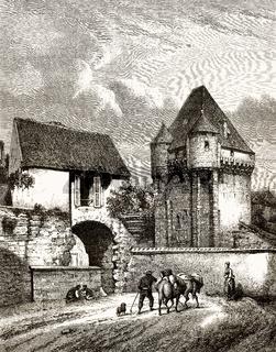Porte du Croux, Nevers, France