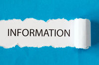 The word INFORMATION