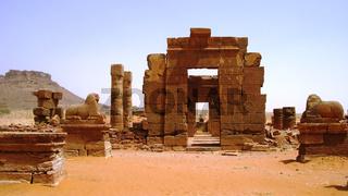 Ruins of Naqa, ancient Kush