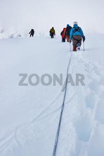 Mountain climbers