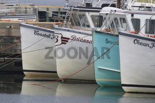 Fischerboote in Port Dennis, Nova Scotia, Canada