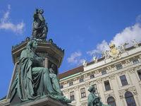 Vienna -   Statue of Emperor Francis II/I