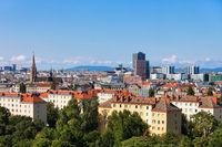 Vienna City Skyline