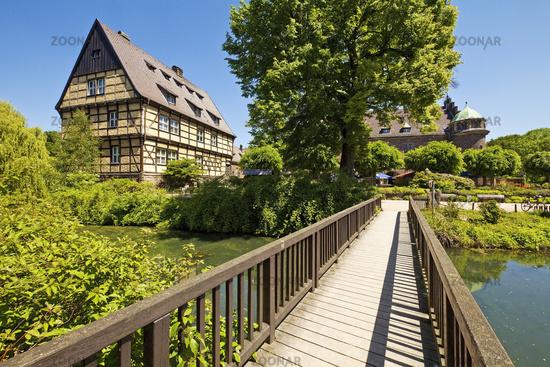 leisure centre Wittringen, Gladbeck, Ruhr Area, North Rhine-Westphalia, Germany, Europe