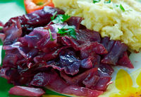Sweet, Sour Red Cabbage