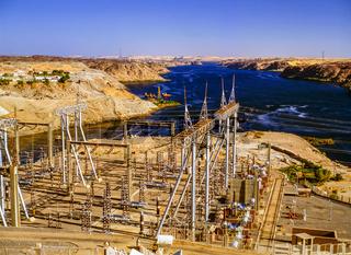Asuan Dam, Egypt