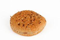 bun with grain