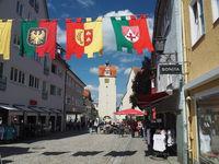 Isny im Allgäu, city in the western, Württembergish part of the Allgäu