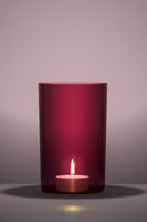red candle with space for your content