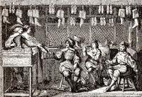 Shoe store, 17th century