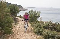 Mountain biking in Istria