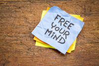 free your mind advice or reminder note