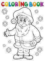 Coloring book Santa Claus thematics 4