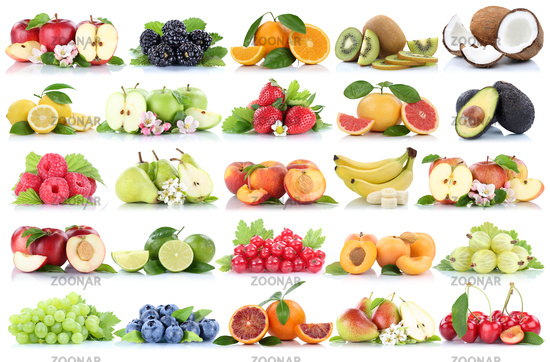 Different Fruits Background Photo