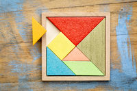 tangram - Chinese puzzle game