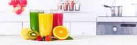 Saft Orangensaft Smoothie Smoothies Fruchtsaft Frucht Banner Früchte Orangen Orange