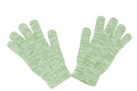 Wool gloves isolated