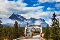 Bridge in the picturesque mountain reserve