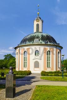 Berlischky Pavillon in Schwedt/Oder, Brandenburg, Deutschland