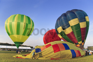 UK Berkshire Newbury Hot Air Baloon