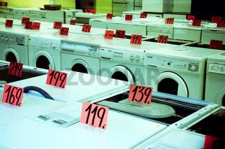 Kuehlschrank, Waschmaschine