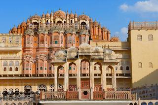 Hawa Mahal, Palace Of The Winds, Jaipur, Rajasthan