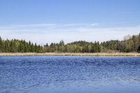 Moosham pond in the Spatenbraufilze