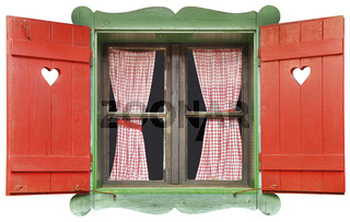 Chalet Window Cutout