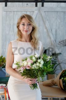 Portrait of girl in dress