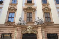 Leipzig - Baroque portal, Germany