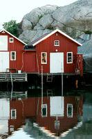 Boathouses in Smoegen