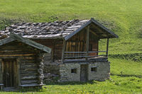 Alpine huts in South Tyrol