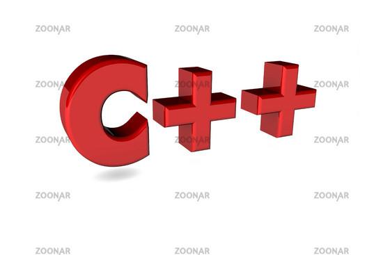 C++ 3d, red