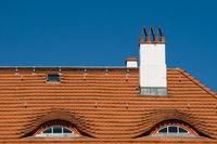 Wohnhaus Dach