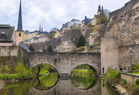 Medieval bridge and fortifications