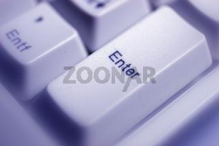 Computertaste Enter / computer key enter