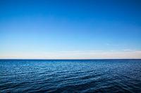 Seascape with sea horizon - Background