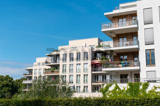 Moderne Mehrfamilienhäuser in Berlin