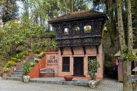 Entrance to the Club Himalaya Hotel, Nagarkot, Kathmandu, Nepal