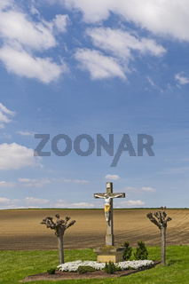Feldkreuz mit Christusfigur